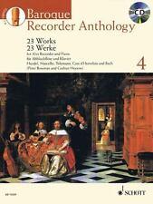 BAROQUE RECORDER ANTHOLOGY 4 (9781847612335)