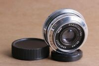 INDUSTAR-50 lens 50mm f/3.5 for FED, Leica M39 KMZ Silver