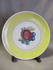 SUSIE COOPER CROWN WORKS FRUIT PATTERN YELLOW  DINNER PLATE  VERY GOOD CONDITON