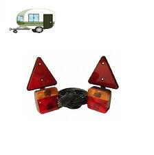MAYPOLE 12V MAGNETIC LIGHT POD WITH TRIANGLES AND 10M TRAILER CABLE MP44922