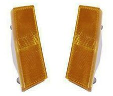 NEW! 1970 Ford Mustang Front Marker Light Lens Pair both Left and Right Side