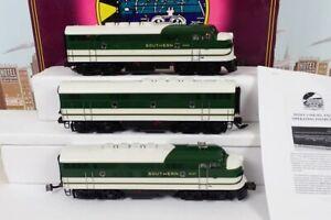 MTH Premier O Gauge No.20-2177-1 Southern ABA F-3 Diesel Engine Set With Sound