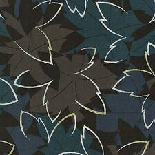"Moonlight Garden Multi ""Leaves""-Robert Kaufman-BTY"