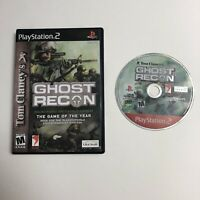 Tom Clancy's Ghost Recon (Sony PlayStation 2, 2002) Tested PS2
