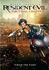 Resident Evil: The Final Chapter (DVD, 2017) New & Sealed FREE Shipping! Buy Now