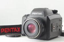 【MINT】 Pentax 645 N II Camera w/ FA 75mm f/2.8 Lens 120 Filmback From JAPAN #386