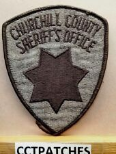 CHURCHILL COUNTY, NEVADA SHERIFF (POLICE) SHOULDER PATCH NV