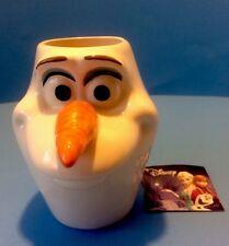 Walt Disney Frozen Movie Olaf Head Figural Head 12 oz Ceramic Mug New - No Box