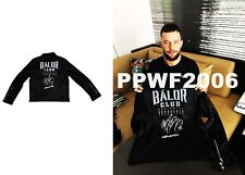 WWE FINN BALOR HAND SIGNED BALOR CLUB AUTOGRAPHED LEATHER JACKET WITH PROOF COA