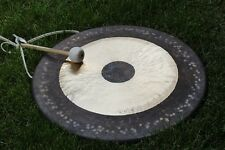 "34"" Chau Gong & Mallet Tamtam gong Honorary presented by MK from Shandong China"