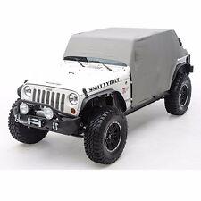Smittybilt Custom Fit Cab Climate Cover w/ Door Flaps 07-17 4dr Jeep Wrangler JK