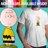 Charlie Brown Peanuts Snoopy Comics Classic Cartoon Unisex Mens Tee Crew T-Shirt
