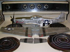 BBI ELITE FORCE North American P 51 D Mustang KILLER WWII 1/18 scale NO PILOT