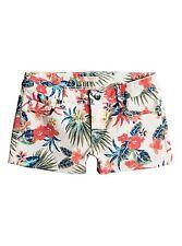 Roxy Girls Passing Afternoon Denim Marshmallow Girl  Shorts Sz 10/M ERGDS03022