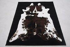 Quality Cow Hide Print Rug 77cm x 150cm Jungle Safari Animal Print Twist