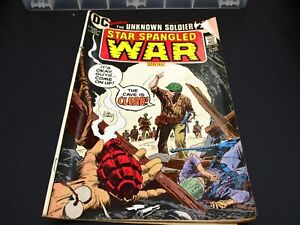 Vintage The Unknown Soldier Star Spangled War Comic Book #170