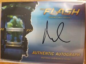 2016 Cryptozoic The Flash Season 1 AC1 Anthony Carrigan the Mist Autograph Auto