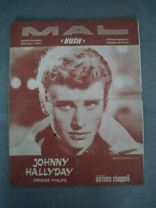 Partitions - Johnny Hallyday - Mal  (Hush)