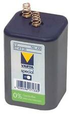 Varta V430 with spring 6V 8100mAh Battery (Model: VARTA-V430V)