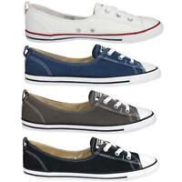 Converse Chuck Taylor All Star Ballet Lace Schuhe Sneaker Ballerinas Damen