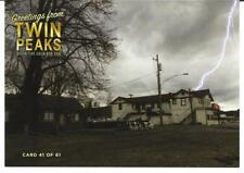TWIN PEAKS GOLD BOX POSTCARD #41 BANG BANG BAR LIGHTNING STRIKE POST CARD