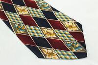 KIROS Silk tie E70601 Made in Italy