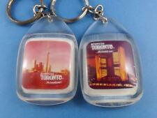 TORONTO SKY LINE CN TOWER CITY HALL KEY RING KEYCHAIN SOUVENIR VINTAGE LOT