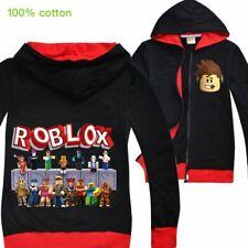ROBLOX Boys Girl Kid Cartoon Casual Spring Fall Hoodies Sweatshirts Coat  Jacket