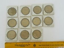 Vintage Jockey Horse Racing Souvenir Token Coins Lot, Unmarked