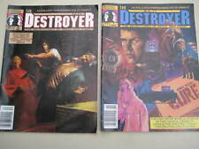 2 THE DESTROYER COMICS- No.1&2-MARVEL MAGAZINE ISSUE  VIEW PHOTO.