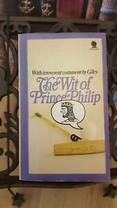 PRINCE PHILLIP THE WIT OF PAPERBACK 1970 BOOK PETER BUTLER & GILES SEEOTHERBOOKS