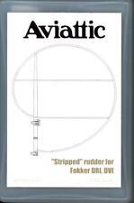 Aviattic Models 1/32 STRIPPED RUDDER for FOKKER Dr.I & D-VI Resin Update Set