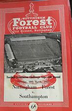 30/03/1963 Nottingham Forest v Southampton [Fa Cup]