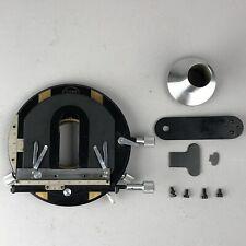 Tiyoda Microscope Rotating Stage w/ Insert & Hardware + Extras
