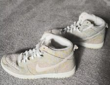 Nike womens Dunk Skinny High Prem trainers 386316-102 uk 6 Floral Rare print