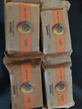 Set Of 4 The Body Shop Mango Bar Soaps 3.5 oz each Sealed