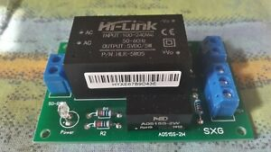 AC-DC PSU Power Supply Unit - board for DC +5 V and DC dual +/- 15 V