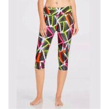 Fabletics Salar Tribal Geo Print Crop Capri Legging Pants Size XS/4