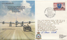Introduction of Boeing B.29 Signed  R B Porter USA Fighter Ace.