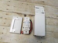 Hubbell Iws Zp 3p W Motion Sensor Pir Wall Switch Push Button White New