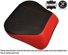 RED & BLACK CUSTOM FITS HARLEY BRAKEOUT 13-16 SUNDOWNER REAR SEAT COVER