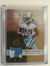 2011 Certified PRIME CHRIS JOHNSON PATCH CARD #30 #12/49