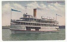 """[63178] 1911 SHIP POSTCARD PLEASURE BOAT """"BRITANNIA"""""""