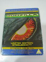 Godzilla Limnited Edition Steelbook Tm Masterizzato 4K - Ray Spagnolo English Am