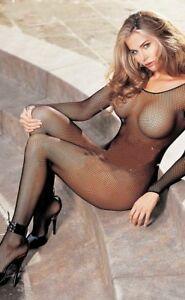 Sexy Bodystocking Catsuit  Schritt Offen