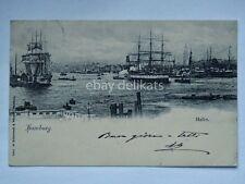 HAMBURG Hafen Amburgo Deutschland AK vecchia cartolina ship nave