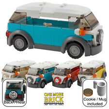 LEGO Camper Van - VW style holiday camper - Azure Blue (other colours available)