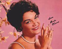 Connie Francis HAND SIGNED 8x10 Photo Autograph, Stupid Cupid, Where the boys B