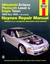 Haynes Workshop Manual Mitsubishi Eclipse 1990-1994 Plymouth Laser Eagle Talon