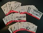 """Lot of 58 1956 Topps Jets Vintage Trading Cards 2 1/4"""" x 3"""""""